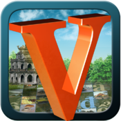 iVietnamese | iPad/iPhone Learning Vietnamese App Badge
